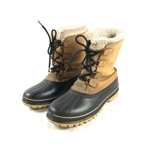 Sorel Men's Wool Lined Duck Boots Sz 11
